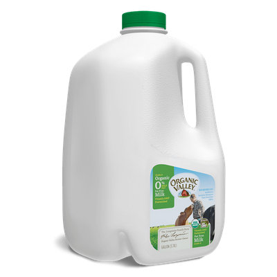 Organic Valley® Fat Free Skim Milk, Pasteurized, Gallon