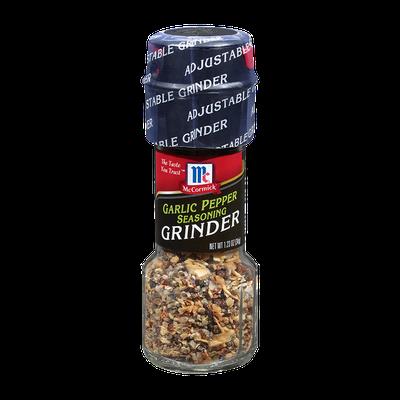 McCormick® Garlic Pepper Seasoning Grinder