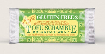 Amy's Kitchen Tofu Scramble Breakfast Wrap, Gluten Free