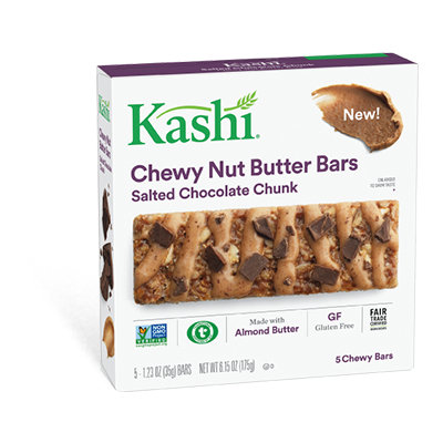Kashi® Chewy Nut Butter Bars Salted Chocolate Chunk