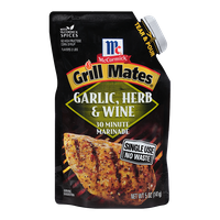 McCormick® Grill Mates Garlic, Herb & Wine Single Use Marinade