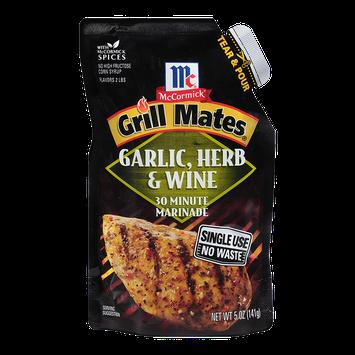 McCormick® Grill Mates Garlic, Herb & Wine Single Use Marinade