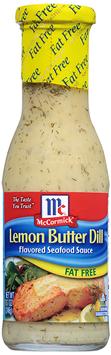 McCormick® Fat Free Lemon Butter Dill Seafood Sauce