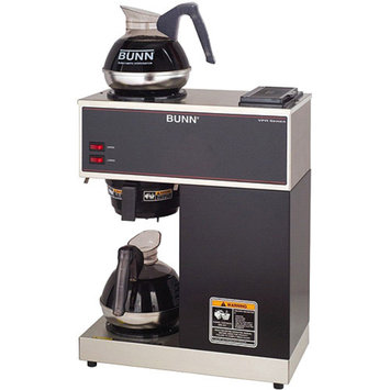 Bunn VPR 12-Cup Pourover Commercial Coffee Brewer w/2 Warmers