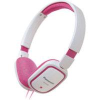 Panasonic Lt Wt On Ear Headphones Wht/Pink DSV