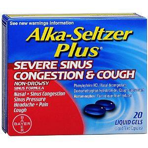 Alka-Seltzer Plus Severe Sinus Congestion & Cough