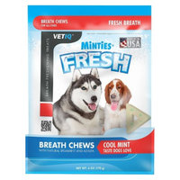 VetIQ Minties Fresh Breath Chew for Dogs - 6 oz