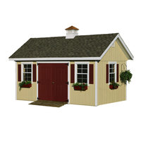 Homeplace By Suncast HomePlace by Suncast Studio Garden Building (10 ft. x 20 ft.)