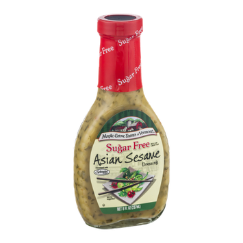 Maple Grove Farms of Vermont Sugar Free Dressing Asian Sesame