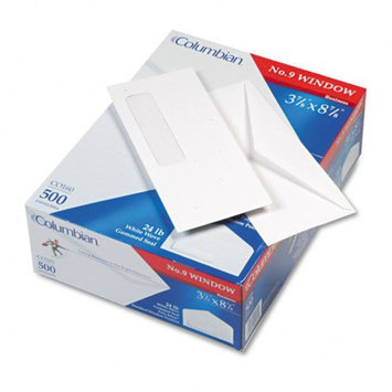 Columbian Poly-Klear Single Window Envelope