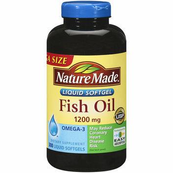 Nature Made Fish Oil Liquid Softgels Mega Size