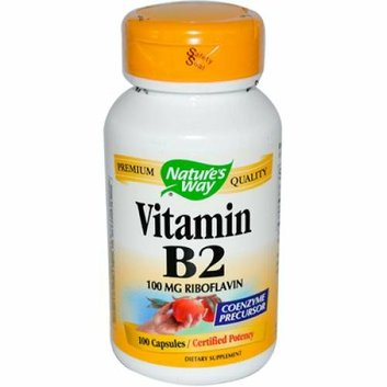 Natures Way 912881 Vitamin B-2