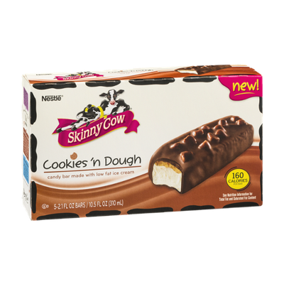 Skinny Cow Ice Cream Bars Cookies 'n Dough