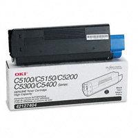 Okidata Corporation 42127404 Toner Cartridge, High-Yield, Black