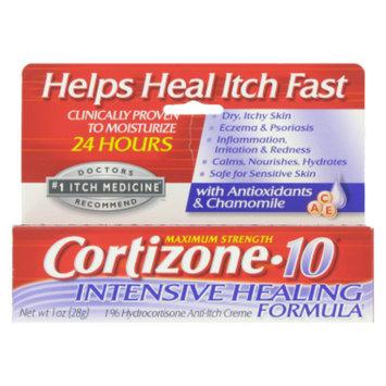 Cortizone-10 Cortizone 10 Intensive Healing Anti-Itch Creme - 1 oz