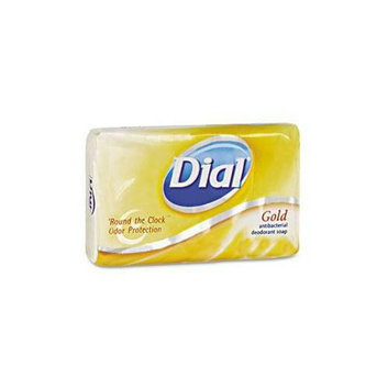 Dial 02401 Wrapped  Gold Bar Soaps