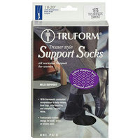 Truform Women's Trouser Style Mild (10-20 mm) Support Socks - XL