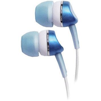 Empire Brands-headphones WICKED WI1901 Metallic Earbud Blue 10mm Driver