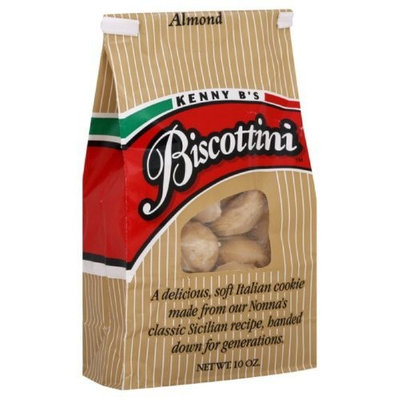 Kenny B's Biscottini, Almond, 10-Ounce (Pack of 3)