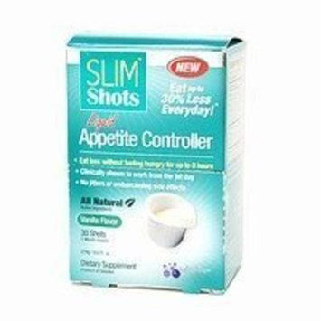 Slim Shots Liquid Portion Control, Shots, Vanilla 30 ea
