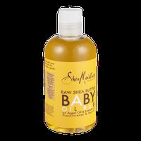 SheaMoisture Raw Shea Butter Baby Oil Rub