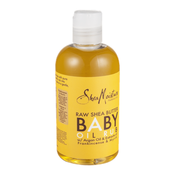 SheaMoisture Raw Shea Butter Baby Oil Rub