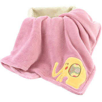 CoCaLo CoCo & Company Alphabet Sweeties Appliqued Boa Blanket