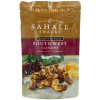 Sahale Snacks Southwest Cashews with Chili + Cheddar, 4-Ounce Bags (Pack of 6)