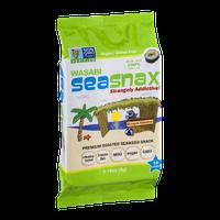 SeaSnax Premium Roasted Seaweed Snack Wasabi