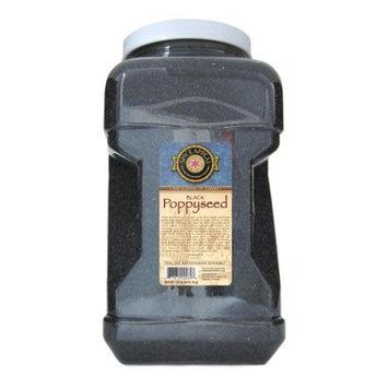Spice Appeal Poppyseed (Black), 104-Ounce Jar