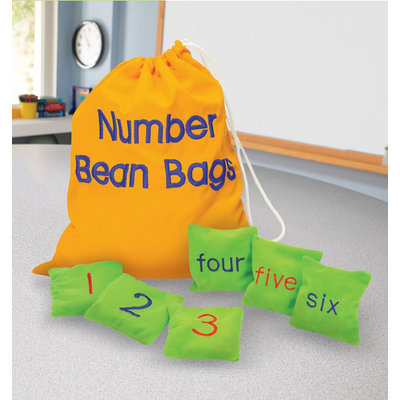 Educational Insights Number Bean Bags - EDUCATIONAL INSIGHTS