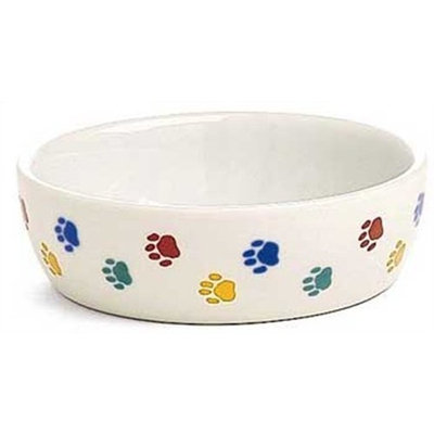 Ethical 5-Inch Cat-Paw Print Stonware Dish