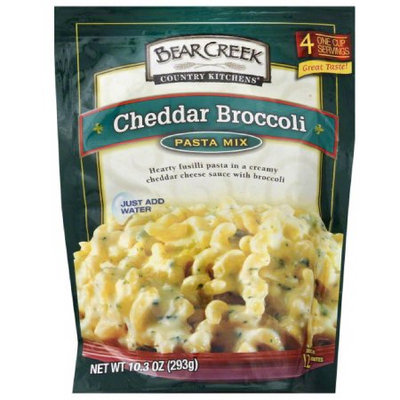 Bear Creek Country Kitchens Cheddar Broccoli Pasta Mix, 10.3 oz, (Pack of 6)