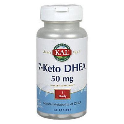 Kal 7-Keto DHEA - 50 mg - 30 Tablets