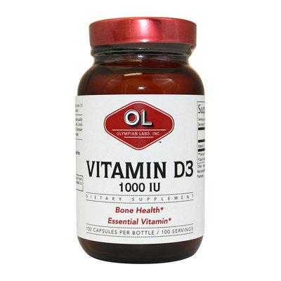 Olympian Labs Vitamin D3 Capsules