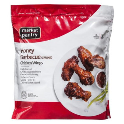 market pantry Market Pantry Honey Barbecue Seasoned Chicken Wings 1.75 lbs