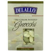 DeLallo Tri-Color Potato Gnocchi, 16-Ounce Boxes (Pack of 6)