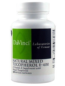 DaVinci Laboratories - Vitamin E Natural Mixed Tocopherols 400 IU - 60 Softgels