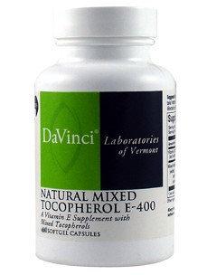 DaVinci Laboratories - Vitamin E Natural Mixed Tocopherols 400 IU - 60 Softgels