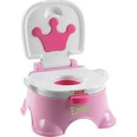 Fisher-Price Royal Stepstool Potty, Pink Princess (Discontinued by Manufacturer)