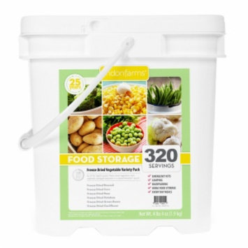 Lindon Farms Freeze Dried Vegetables, 320 Servings, 1 ea