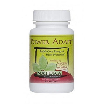 Natura Health Products - Power Adapt - 60 Capsules