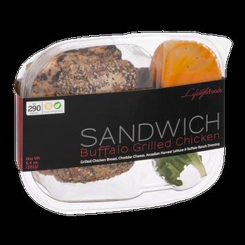 Lifestyle Foods Sandwich Buffalo Grilled Chicken