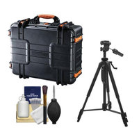Vanguard Supreme 46F Waterproof and Airtight Hard Case with Foam with Tripod + Cleaning Kit