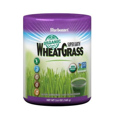 Super Earth Organic Wheatgrass Bluebonnet 5.6 oz Powder