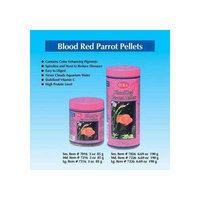 Topdawg Pet Supply Ocean Star International AOSI7016 Blood Red Parrot Pellet Fish Food, 3-Ounce