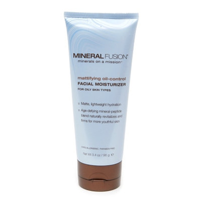 Mineral Fusion Mattifying Oil-Control Facial Moisturizer for Oily Skin Types