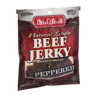 Bridgford Natural Style Beef Jerky Peppered