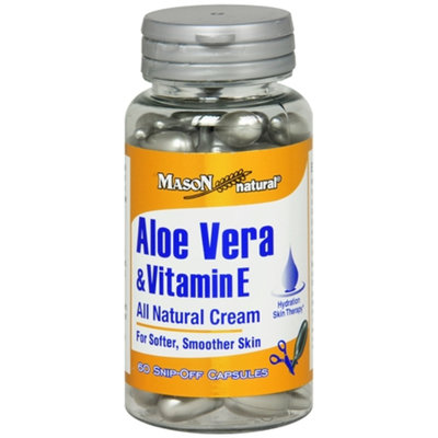 Mason Natural Aloe Vera & Vitamin E