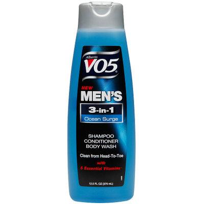 Alberto VO5® Mens 3-in-1 Shampoo, Conditioner & Body Wash, Ocean Surge